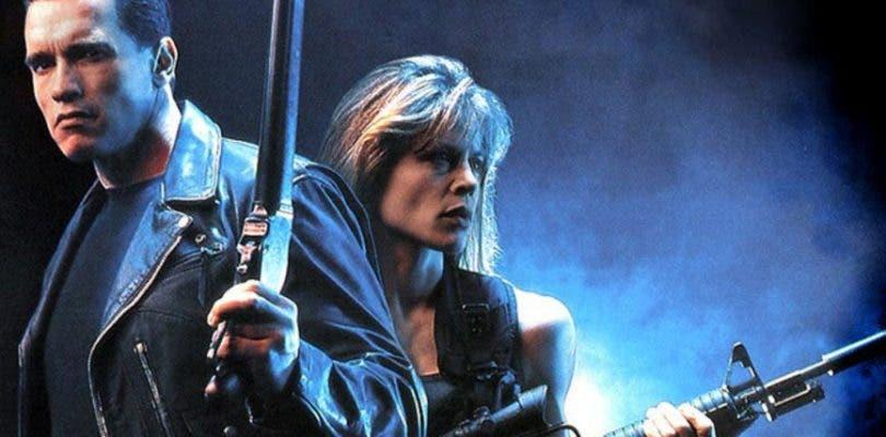 Arnold Schwarzenegger y Linda Hamilton juntos en la nueva imagen de Terminator 6