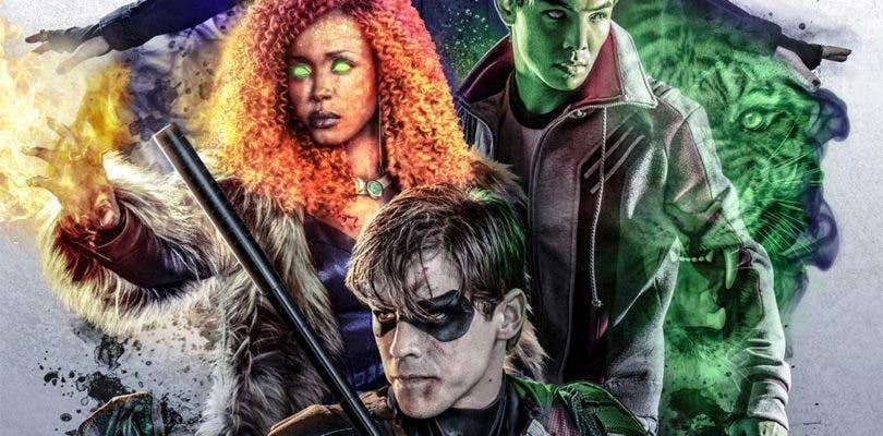 Titans se funde con la estética de The CW en su primer póster oficial