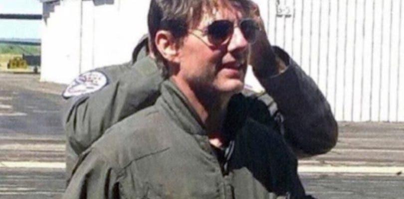 Tom Cruise recupera el mono en las primeras imágenes del rodaje de Top Gun 2