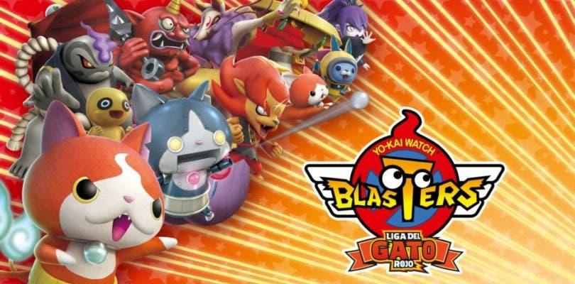 El spinoff the Yo-kai Watch titulado 'Blasters' llega a España mañana