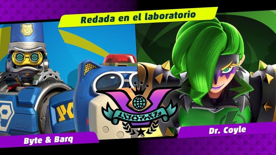 Imagen de Nintendo convoca a la Dra. Coyle y a Bite & Barq para la festilucha de ARMS