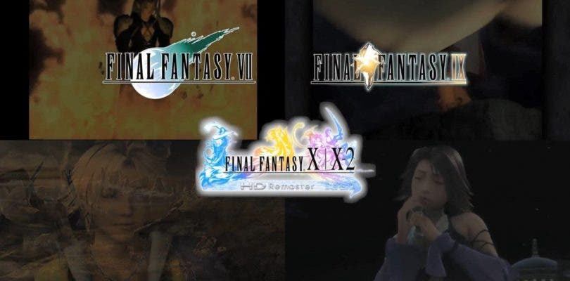 Final Fantasy VII,IX,X y X-2 llegarán a Nintendo Switch