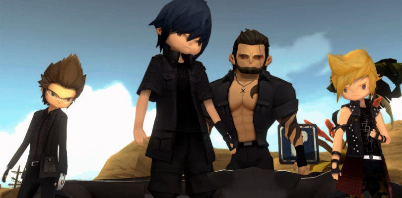 Final Fantasy XV: Pocket Edition ya es una realidad en consolas