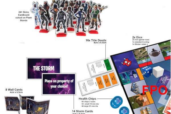 Fortnite Contara Con Su Propia Edicion Del Monopoly