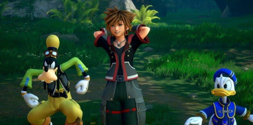 Kingdom Hearts III nos permitirá equipar tres llaves espada simultáneamente