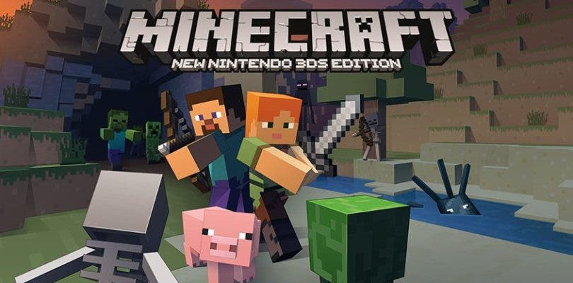 Minecraft: New 3DS Edition ya está disponible en Europa