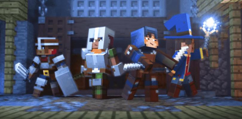 Mojang sorprende anunciando Minecraft: Dungeons, un nuevo título en la franquicia