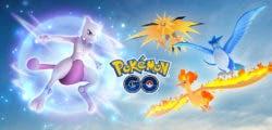 Mewtwo y los pájaros legendarios son los protagonistas del ultrabonus de Pokémon GO