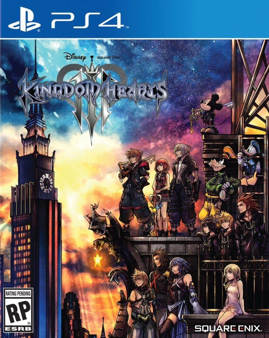 Mostradas Las Caratulas Definitivas De Kingdom Hearts Iii