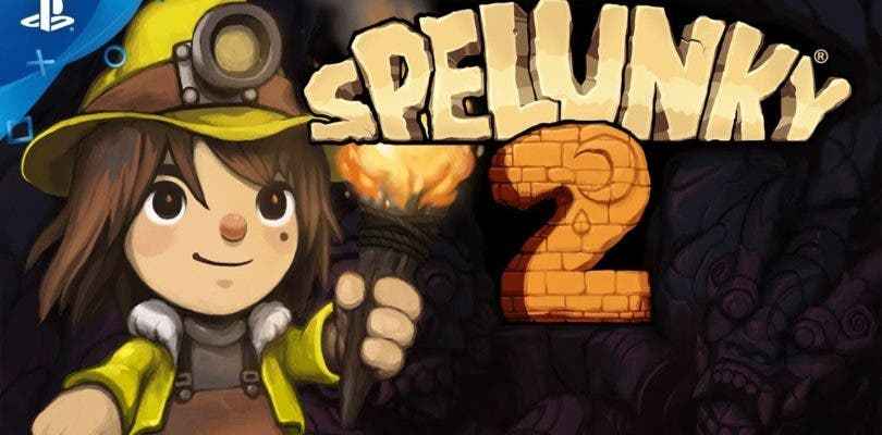 Spelunky 2 se luce en un largo gameplay desde la PAX West 2018