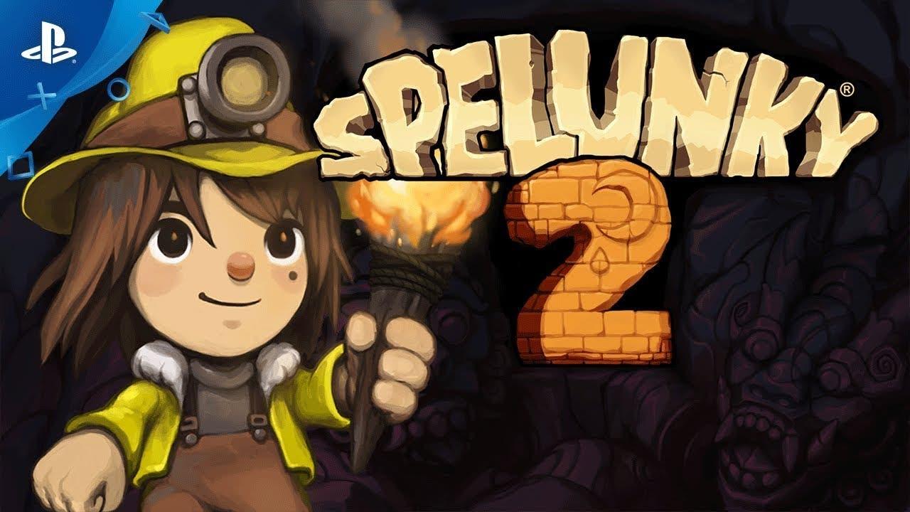 Imagen de Spelunky 2 se luce en un largo gameplay desde la PAX West 2018