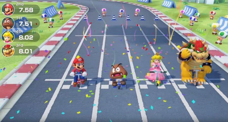Imagen de Super Mario Party deja ver una porción de su contenido en un extenso gameplay
