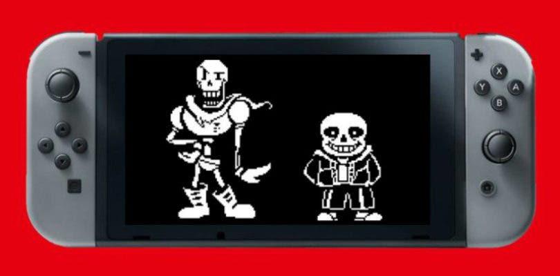Undertale ya se encuentra disponible en Nintendo Switch y lo celebra con un tráiler