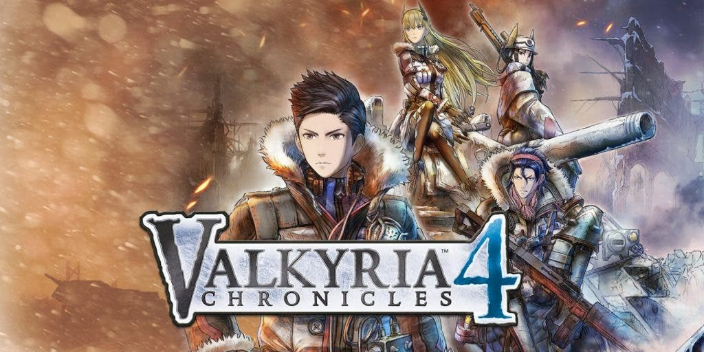 valkyria chronicles 4 review logo