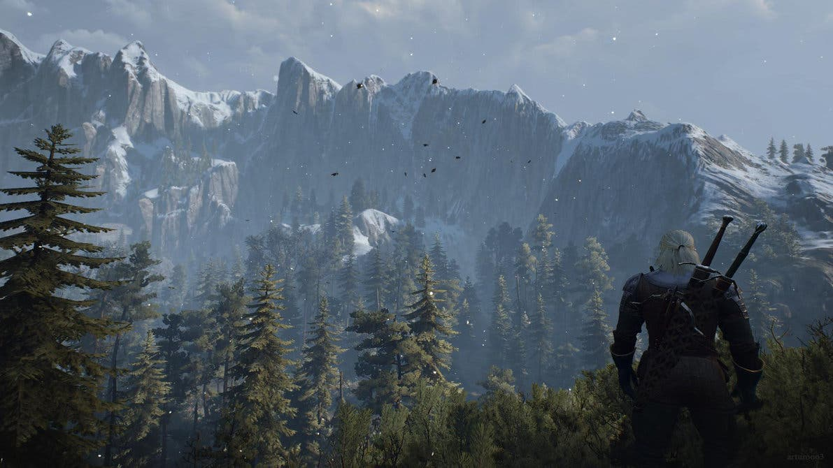 Imagen de Un nuevo mod para The Witcher 3 nos trae texturas 4K de alta calidad