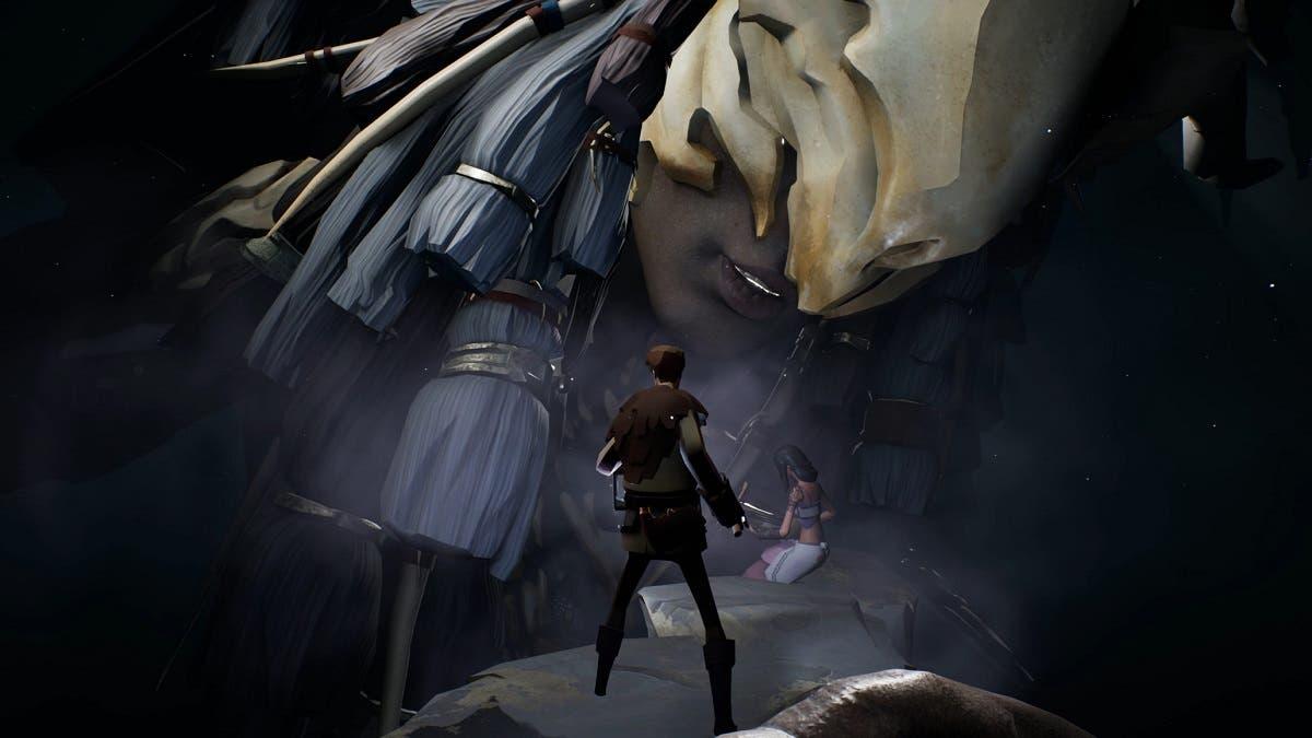 Imagen de Nightstorm Isle, el DLC de Ashen, se muestra en su tráiler de lanzamiento