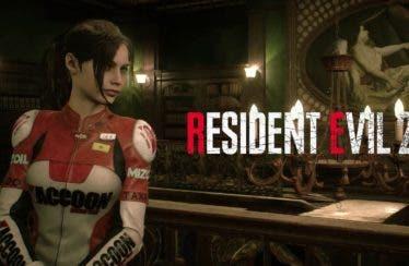 Así luce Claire con el atuendo de Elza Walker en Resident Evil 2 Remake