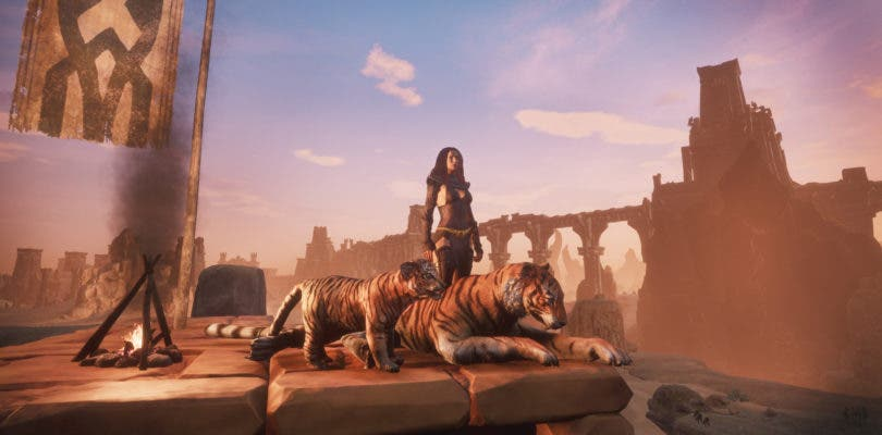 Mascotas, una nueva religión y más en la última actualización de Conan Exiles
