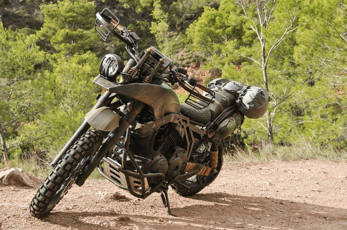 Imagen de Unos mecánicos recrean la moto de Days Gone junto a PlayStation Nordic