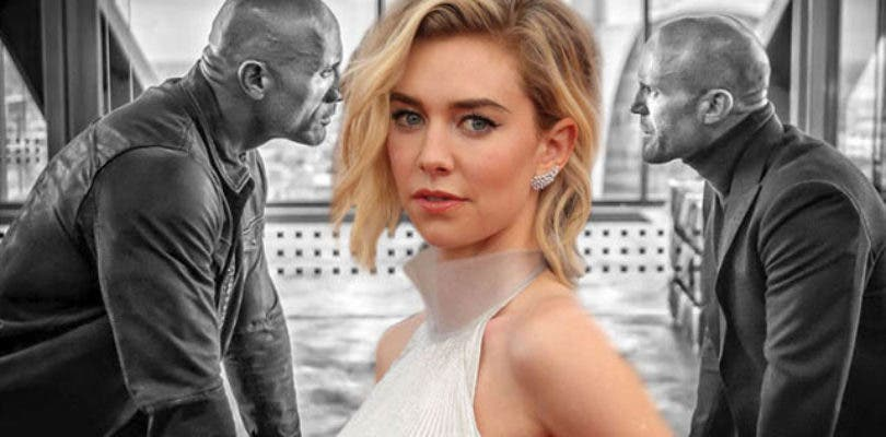 Primera imagen de Vanessa Kirby en Hobbs and Shaw, el spin-off de Fast and Furious