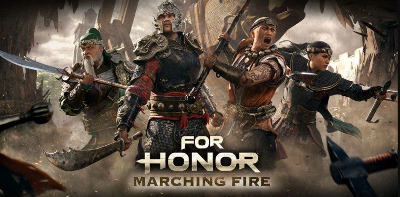 Ubisoft detalla la actualización Marching Fire de For Honor en un vídeo
