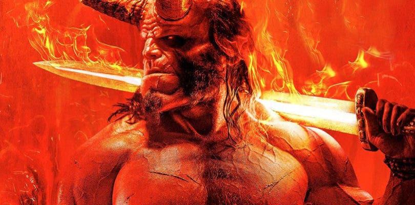 Hellboy te da la bienvenida al infierno en el espectacular primer póster del reboot