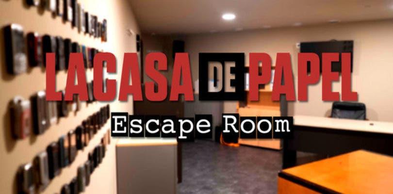 """La Casa de Papel estrena en Madrid """"la Escape Room más grande del mundo"""""""