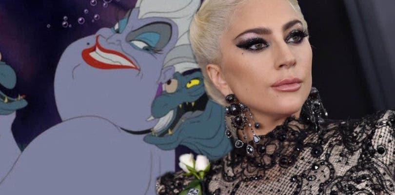 Lady Gaga podría da vida a Úrsula en el live-action de La Sirenita
