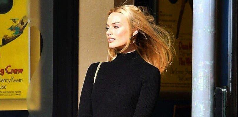 Margot Robbie deslumbra en el rodaje de Once Upon a Time in Hollywood