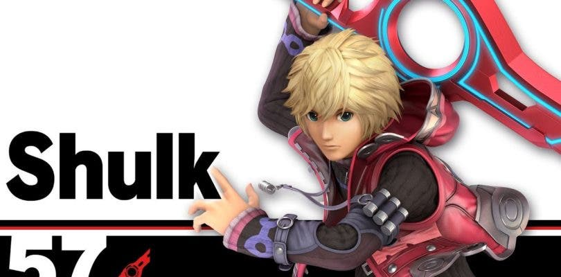Shulk es el nuevo luchador en asistir al blog oficial de Super Smash Bros. Ultimate