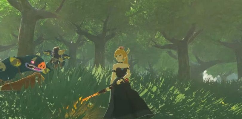 La querida Bowsette se cuela en Zelda: Breath of the Wild