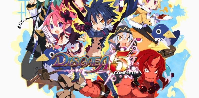 Disgaea 5 Complete ya está disponible para ordenadores