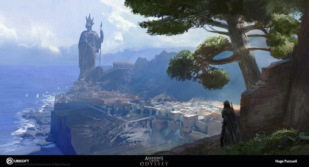 Imagen de Ubisoft comparte el trabajo artístico de Assassin´s Creed Odyssey