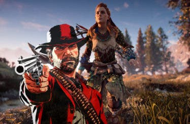 Comparan gráficamente Red Dead Redemption 2 y Horizon Zero Dawn