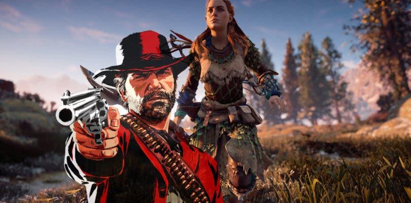 Comparan gráficamente Red Dead Redemption 2 y Horizon Zero Dawn
