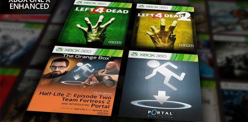 4 Nuevos Juegos De Valve De X360 Estan Optimizados Para Xbox One X