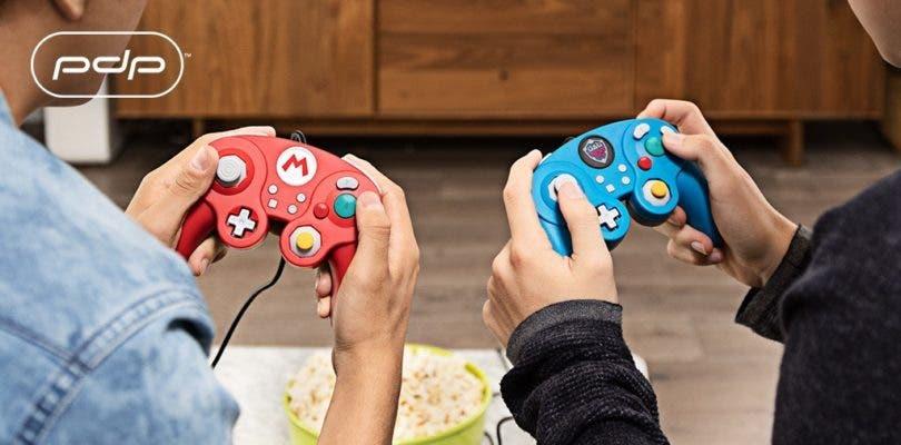 Nuevos mandos para Switch inspirados en GameCube llegaran junto a Super Smash Bros
