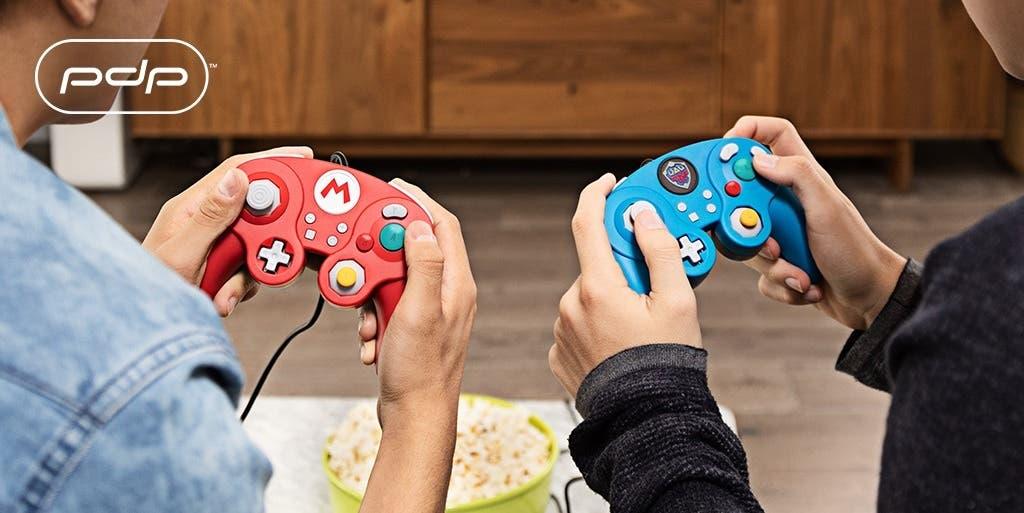 Imagen de Nuevos mandos para Switch inspirados en GameCube llegaran junto a Super Smash Bros