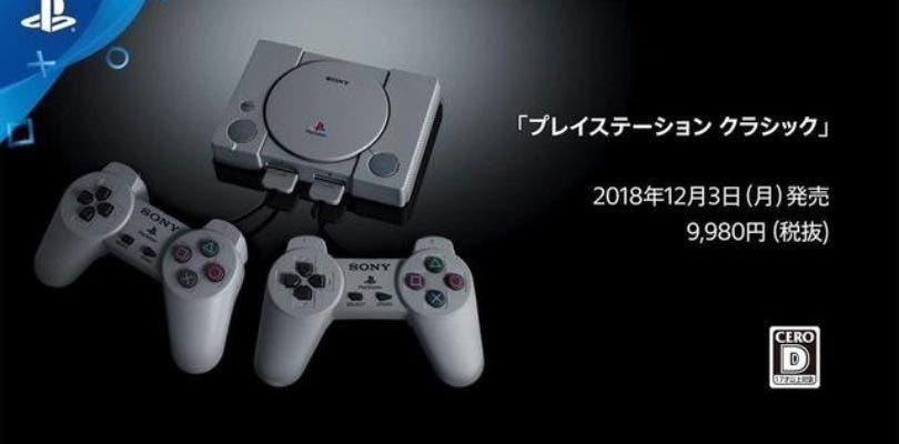 Aquí tenemos los 20 títulos de PlayStation Classic para Japón