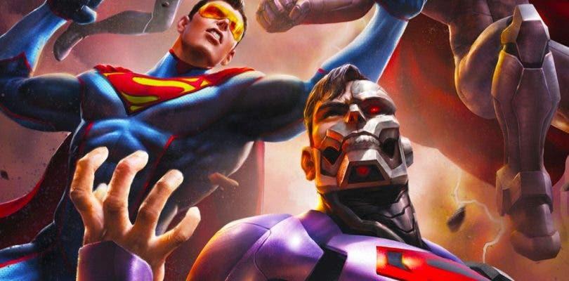 La lucha por la capa de Superman empieza en el primer tráiler de Reign of the Supermen