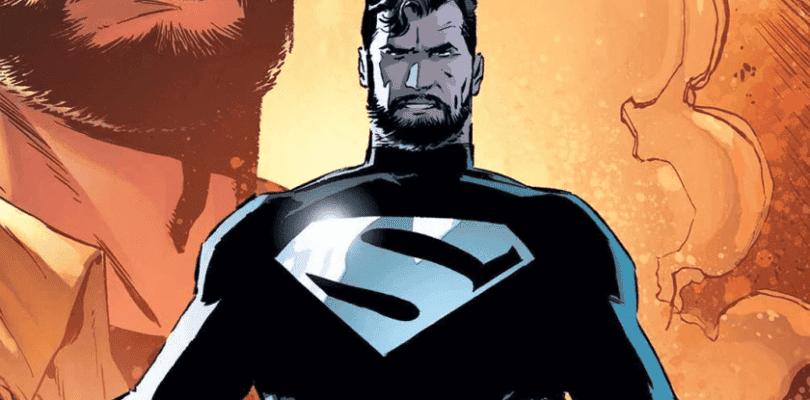 El Superman de The CW viste su traje negro en las primeras imágenes del crossover de este año