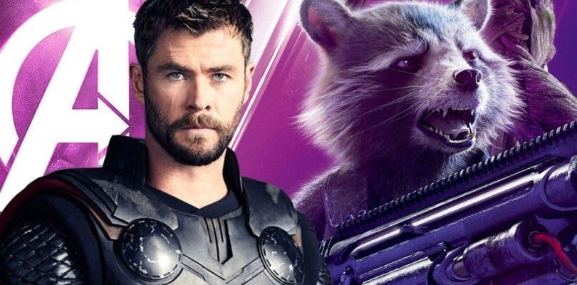 Filtrado un arte promocional de Avengers 4 con nuevos trajes para Thor y Rocket