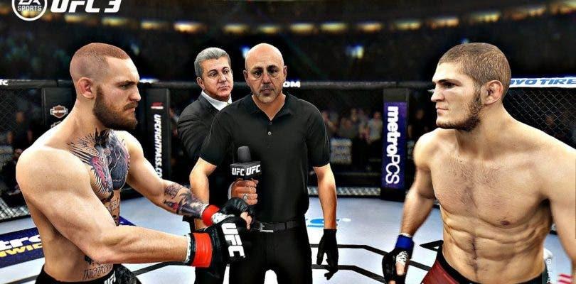 EA Sports UFC 3 ya predijo el ganador del combate Khabib vs. McGregor