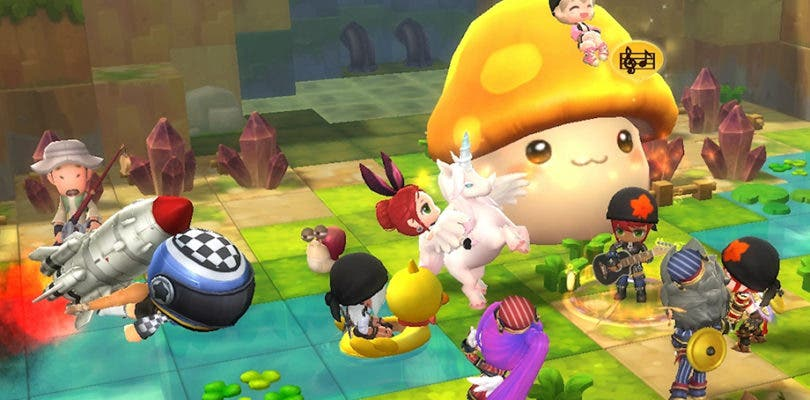 MapleStory 2 ya disponible en PC en todo el mundo