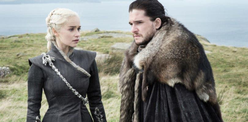 Jon y Daenerys deslumbran en la primera imagen oficial de la octava temporada de Juego de Tronos