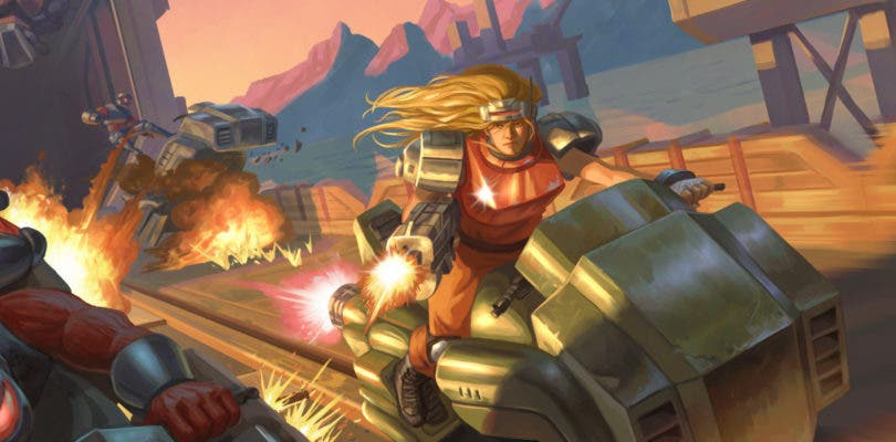 Disfrutarás de la acción de Blazing Chrome a principios de 2019 en Switch, PlayStation 4 y PC