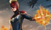 Capitana Marvel estrena su traje rojo al completo en nuevas e increíbles imágenes
