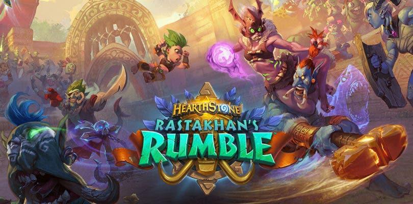 Blizzard anuncia La Arena de Rastakhan, la nueva expansión de Hearthstone