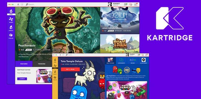 Kartridge, la tienda digital de Kongregate, ya está abierta para todos