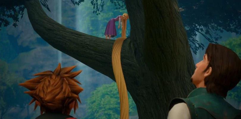 Enredados y el Reino de Corona se lucen un vídeo de Kingdom Hearts III